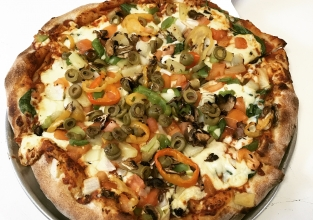 Ultimate Veggie Pizza