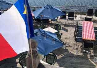 Patio on National Acadian Day